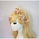 cheap Party Headpieces-Resin / Cotton Flowers / Hair Clip / Hair Stick with 1 Wedding / Special Occasion / Party / Evening Headpiece