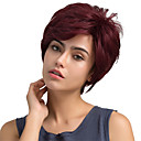 olcso Borotválkozás és szőrtelenítés-Emberi hajszelet nélküli parókák Emberi haj Egyenes Klasszikus Jó minőség Géppel készített Paróka Napi