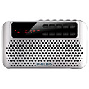 cheap Radio-PHILIPS SBM120 FM FM Radio / Built in out Speaker World Receiver Silver / Blue