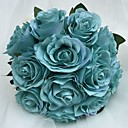 "baratos Bouquets de Noiva-Bouquets de Noiva Buquês Casamento Cetim 7.87""(Aprox.20cm)"