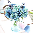 cheap Nail Jewelry-Artificial Flowers 1 Branch European Style Roses Tabletop Flower