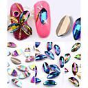 billige Rhinsten&Dekorationer-10 pcs Negle Smykker Negle kunst Manicure Pedicure Daglig Dekorativ / Mode / Negle smykker