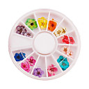 billige Nail Glitter-1 pcs Mode Nail Art Design Daglig