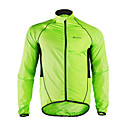 cheap Armwarmers & Legwarmers-Nuckily Men's Cycling Jacket Bike Jacket / Windbreaker / Raincoat Waterproof, Quick Dry, Windproof Patchwork Polyester Green Bike Wear