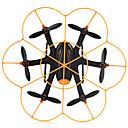billige Dele og tilbehør til fjernstyret legetøj-RC Drone WL Toys Q383-C 4 Kanaler 6 Akse 2.4G Med 720P HD-kamera Fjernstyret quadcopter LED-belysning Fejlsikker 360 Graders Flyvning