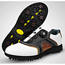 cheap Golf Shoes-Men's Golf Shoes Rubber Golf, Wearable, Breathable Nappa Leather / Cowhide