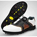 baratos Sapatos para Golf-Homens Sapatos para Golf Borracha Golf, Vestível, Respirável Pele Napa / Pele