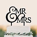 זול קישוטים לעוגה-קישוטים לעוגה יומהולדת חתונה איכות גבוהה פלסטי חתונה יום הולדת עם 1 תיק PVC