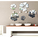 cheap Wall Stickers-Decorative Wall Stickers - Mirror Wall Stickers Abstract / Shapes / 3D Living Room / Bedroom / Study Room / Office