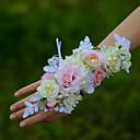 """povoljno Cvijeće za vjenčanje-Cvijeće za vjenčanje Wrist Corsage Vjenčanje Pamuk 1.97 """"(Approx.5cm)"""