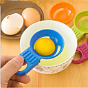 cheap Kitchen Tools-Candy Color Egg Separator Egg White Yolk Dividers Kitchen Baking Tool
