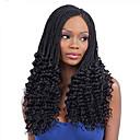 זול צמות שיער-שיער קלוע מתולתל סריגה צמות טוויסט תוספות שיער משיער אנושי 100% שיער קנקלון Kanekalon 30 שורשים / Pack 34 שורשים שיער צמות Ombre יומי