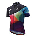 cheap Cycling Jersey & Shorts / Pants Sets-Miloto Cycling Jersey Men's Short Sleeves Bike Jersey Top Reflective Strip Fast Dry Stretchy Polyester Spandex Spring/Fall Summer Cycling