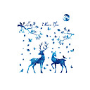 cheap Wall Stickers-Decorative Wall Stickers - Plane Wall Stickers Landscape Animals Fashion Living Room Bedroom Bathroom