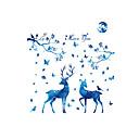 olcso Falmatricák-Dekoratív falmatricák - Repülőgép matricák Landscape Állatok Divat Nappali szoba Hálószoba Fürdőszoba