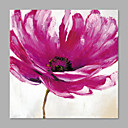 cheap Abstract Paintings-Oil Painting Hand Painted - Floral / Botanical Artistic Canvas