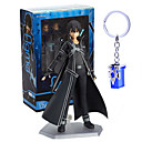 cheap Anime Action Figures-Anime Action Figures Inspired by Sword Art Online Kirito PVC 14 CM Model Toys Doll Toy
