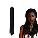 cheap Hair Braids-Braiding Hair Curly / Crochet Dreadlocks / Faux Locs / Hair Accessory / Human Hair Extensions 100% kanekalon hair / Kanekalon 24 roots / pack Hair Braids Dreadlock Extensions / Dreads Locs / Crochet