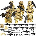 cheap Building Blocks-DILONG Building Blocks / Block Minifigures / Educational Toy 106 pcs Military / Warrior Unisex Gift