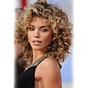 cheap Human Hair Wigs-Human Hair Capless Wigs Human Hair Curly Wavy Layered Haircut High Quality Medium Machine Made Wig Women's