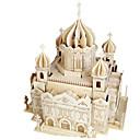 preiswerte Videospiele Cosplay Perücken-3D - Puzzle Holzpuzzle Modellbausätze Kirche Heimwerken Naturholz Klassisch Kinder Unisex Spielzeuge Geschenk