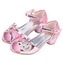 cheap Pillow Covers-Girls' Shoes Synthetic Microfiber PU Summer / Fall Comfort / Flower Girl Shoes Flats Buckle for Silver / Pink