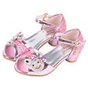 baratos Almofadas de Decoração-Para Meninas Sapatos Micofibra Sintética PU Verão / Outono Conforto / Sapatos para Daminhas de Honra Rasos Presilha para Prateado / Rosa