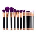 cheap Makeup Brush Sets-15pcs Makeup Brushes Professional Powder Brush / Foundation Brush Nylon Cute / Full Coverage Aluminium / Plastic