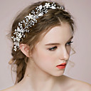 cheap Bracelets-Rhinestone / Alloy Headbands / Headwear / Head Chain with Floral 1pc Wedding / Special Occasion / Anniversary Headpiece