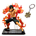 billige Anime actionfigurer-Anime Action Figurer Inspirert av One Piece Ace PVC CM Modell Leker Dukke