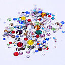 cheap Rhinestone & Decorations-300 pcs Nail Jewelry nail art Manicure Pedicure Daily Fashion