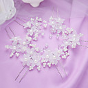 cheap Rings-Imitation Pearl Hair Pin with 1 Wedding / Special Occasion / Party / Evening Headpiece