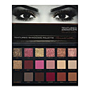 cheap Eye Kits & Palettes-18 Colors Eyeshadow / Eyeshadow Palette / Powders EyeShadow Matte / Shimmer / smoky Bathroom Sink Faucets Shimmer glitter gloss Long Lasting Daily Makeup Party / Evening Party / Wedding Party Makeup