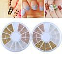 billige 3D Sticker-1 pcs Negle Smykker Negle kunst Manicure Pedicure Daglig Mode / Negle smykker
