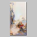 baratos Pinturas Abstratas-Pintura a Óleo Pintados à mão - Abstrato Abstracto Modern Tela de pintura