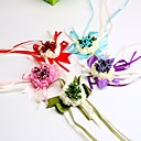 "cheap Wedding Flowers-Wedding Flowers Wrist Corsages Wedding Special Occasion Satin 2.76""(Approx.7cm)"
