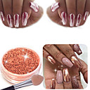 cheap Nail Stamping-2g sexy rose gold nail mirror powder nail glitter chrome powder nail art decoration
