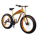 baratos Bicicletas-Bicicleta De Montanha Ciclismo 24 velocidade 26 polegadas / 700CC SHIMANO TX30 Freio a Disco Duplo Suspensão Garfo liga de alumínio Alumínio / Liga