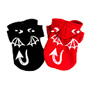 cheap Pet Christmas Costumes-Dog Costume Coat Dog Clothes Halloween Angel & Devil Black Red