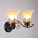 رخيصةأون أضواء الحائط LED-الحديثة / المعاصرة مصابيح الحائط زجاج إضاءة الحائط 110-120V / 220-240V 40W