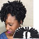 cheap Hair Braids-Braiding Hair Freetress Hair Kinky Curly Toni Curl European Pre-loop Crochet Braids Curlkalon Hair Synthetic 100% kanekalon hair 20roots/pack Blonde Burgundy 10 inch Bouncy 5-6packs for a full head