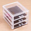 hesapli Kozmetik Kutuları ve Çantaları-Makyaj Aletleri Cosmetics Storage Makyaj Arkilik Dört Köşeli Günlük Kozmetik Tımar Malzemeleri
