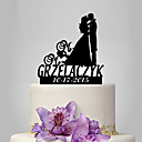 cheap Models & Model Kits-Cake Topper Classic Theme / Romance / Wedding Classic Couple Plastic Wedding / Anniversary with 1 pcs Poly Bag