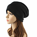 cheap Mascaras-Unisex Headwear / Chic & Modern / Knitwear Cotton Beanie / Slouchy / Floppy Hat - Solid Colored Pure Color / Cute / Fall / Winter