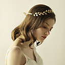 cheap Synthetic Capless Wigs-Alloy Headbands with 1 Wedding / Special Occasion / Anniversary Headpiece