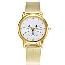 abordables Relojes de Moda-Mujer Reloj de Moda Reloj de Vestir Japonés Cuarzo Dorado Reloj Casual Analógico damas Encanto Casual Dibujos Elegante - Dorado