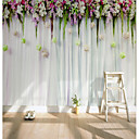 cheap Wall Murals-Mural Canvas Wall Covering - Adhesive required 3D / Flower / Floral / Classic