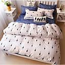 preiswerte Geometrische Duvet Covers-Bettbezug-Sets Geometrisch Baumwolle Bedruckt 4 Stück
