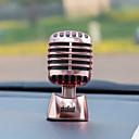 olcso Autós függők, díszítőelemek-Diyautomotive díszek autó parfüm díszek divat személyiség mikrofon díszítő&Fém díszek