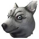 baratos Máscaras de Festa-Máscaras de Dia das Bruxas Máscara de Animal Cachorros Terror Cola Peças Unisexo Adulto Dom